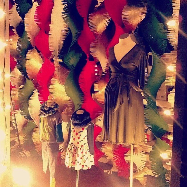 2013 Christmas Window at Over the Moon